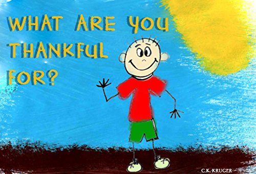 Thanksgiving Kids Book What are you thankful for