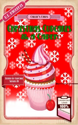 Christmas Cupcakes and a Caper cover