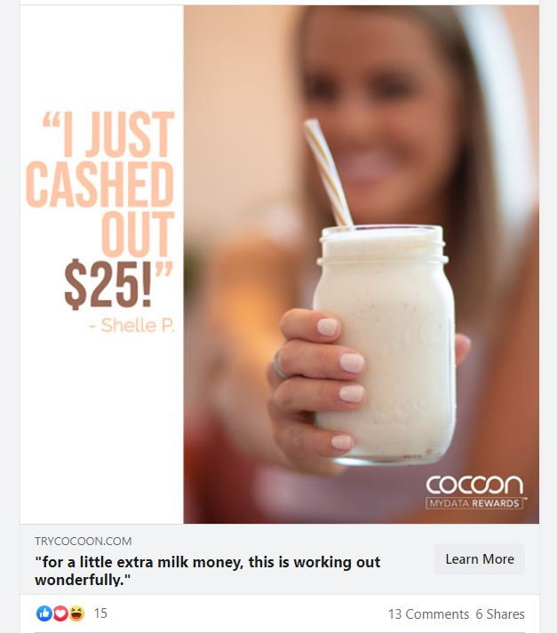 Cocoon ad
