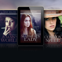 Read an Excerpt: The Marshal's Lady by Josie Malone